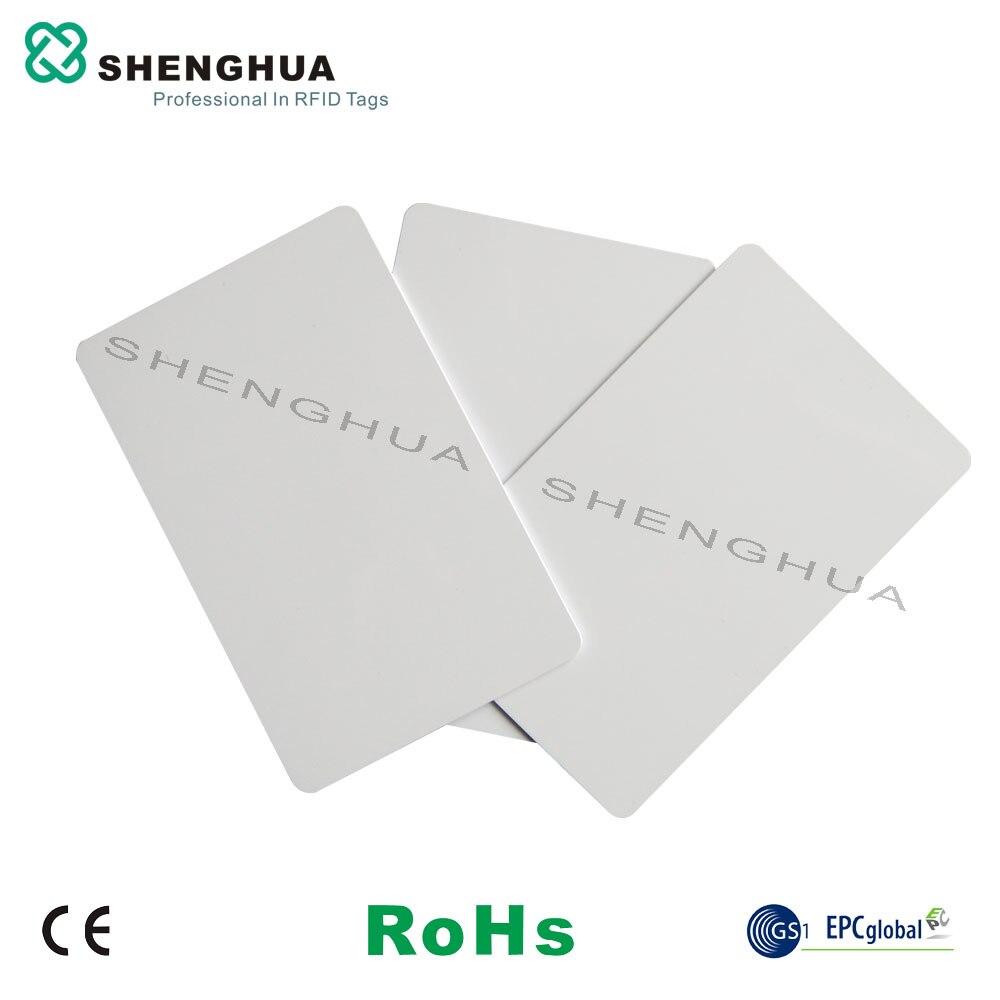 200pcs/lot Rfid Bus Transportation Card Rewritable Rfid Smart Card Printable Rfid 1k Stickers Passive Nfc Rfid Tag Blank Card