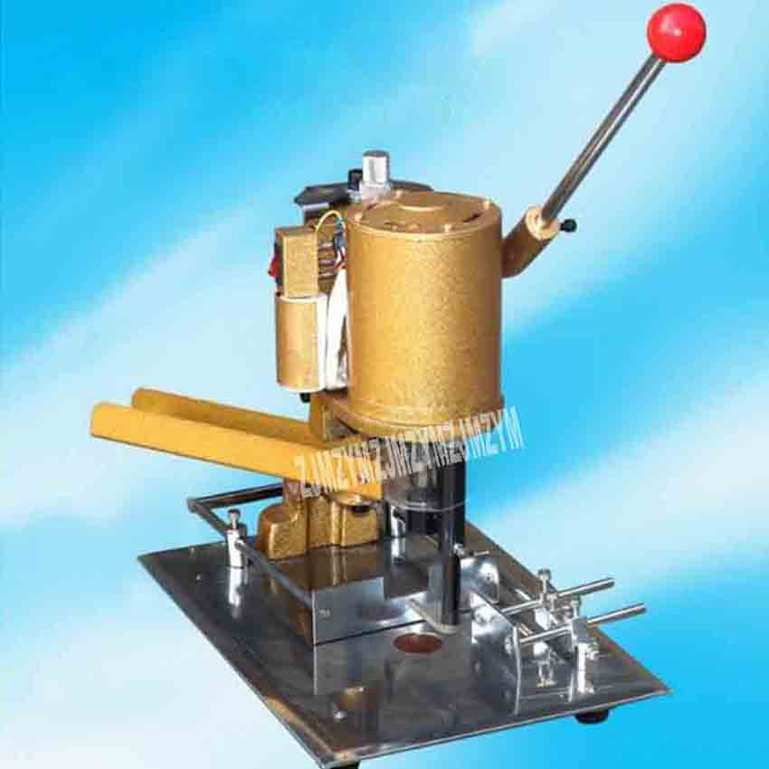 110V/220V 120W DK-150 Electric Hang Tag Punching Machine Portable Paper Bag Hole Machine Send With 10Pcs High-speed Steel Drills