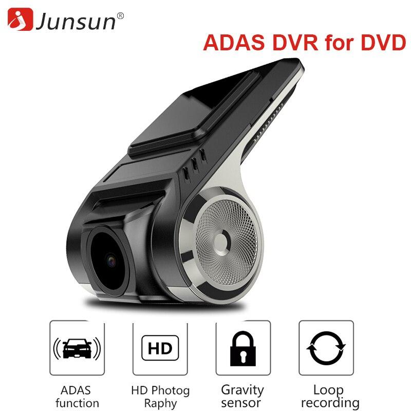 ADAS Mini voiture DVR caméra Full HD LDWS Auto enregistreur vidéo numérique Dash Cam autoradio pour Android multimédia lecteur DVD g-sensor