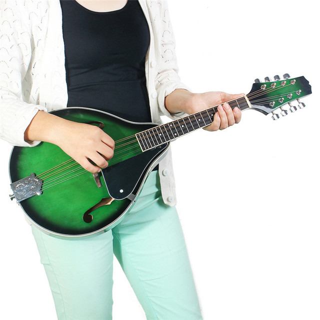 Mandolin Guitar with Steel Strings