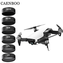 CAENBOO Drone Filters Camera Mavic Air UV CPL ND 4 8 16 32 Neutral Density Set Drones Star Filter For DJI Mavic Air Accessories