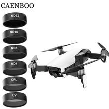 Drone กล้องตัวกรองสำหรับ Mavic Air UV CPL ND 4 8 16 32 Neutral Density ชุด Drones Star สำหรับ DJI Mavic Air อุปกรณ์เสริม