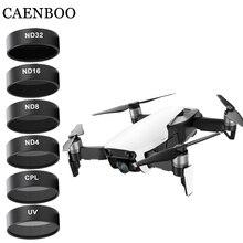 """Drone מסנני מצלמה עבור Mavic אוויר UV CPL ND 4 8 16 32 צפיפות ניטראלי סט מזל """"טים כוכב מסנן עבור DJI Mavic אוויר אבזרים"""