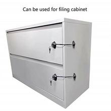 Полезный защитный замок для детей холодильник замок на дверку морозилки Детская безопасность переключение замок двери замок для двери холодильника с 2 клавишами