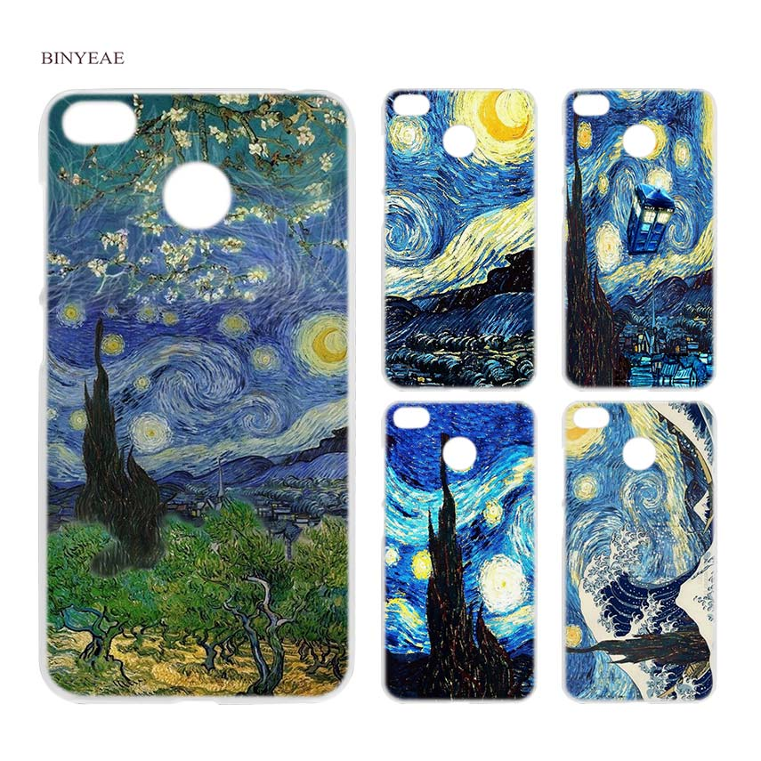 Amiable Binyeae Vincent Van Gogh Starry Sky Oil Clear Hard Case Cover Shell For Xiaomi Mi A2 A1 5x 6x Redmi Note 4x 4 4a 5 Plus Cellphones & Telecommunications