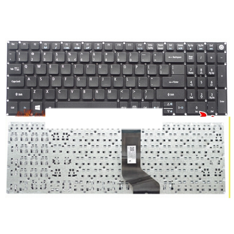 Original New for Acer Aspire E5-575 E5-575G E5-575T E5-575T US black Keyboard