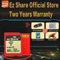 100% da Capacidade Real Original Share WI-FI Cartão De Memória SD De 8 GB 16 GB cartao de memoria de 32 GB Classe 10 SDHC câmera cartão Livre grátis