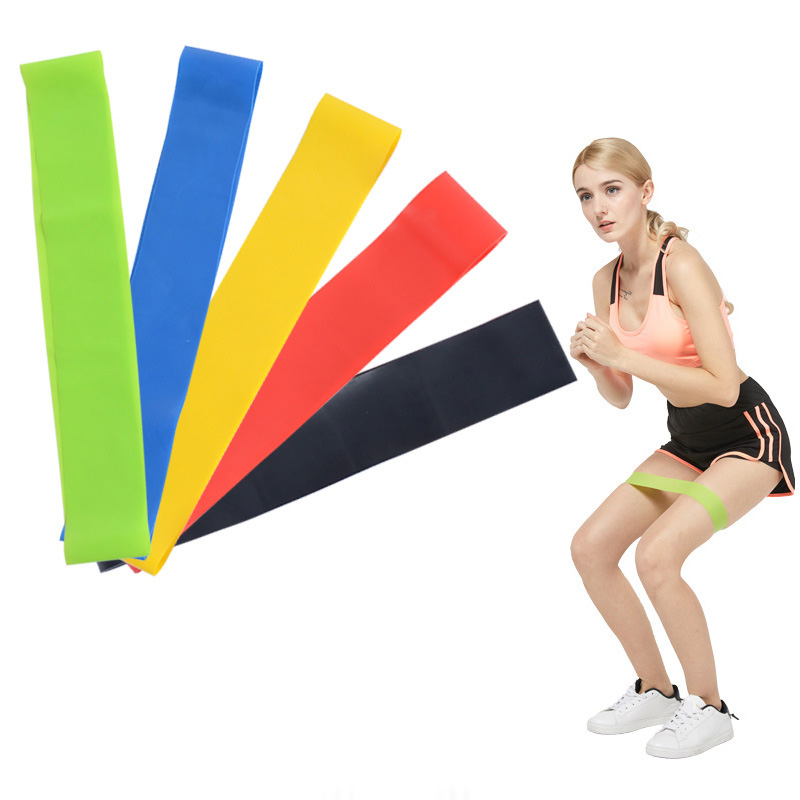 5Pcs/Lot Elastic Resistance Bands For Fitness Strength Training Workout Expander Muscle Elastique Mini Band Exercise Equipment