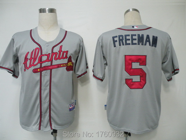 hot sale online ef202 347d6 2015 USA Baseball Jersey Atlanta Braves Jersey 5 Freddie ...