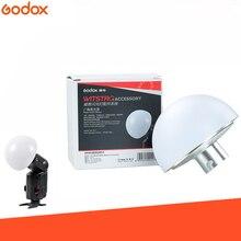 Godox Ad S17 Witstro Ad200 Ad360 Dome dyfuzor szerokokątny miękki fokus cień dyfuzor dla Godox Ad200 Ad180 Ad360 Speedlite