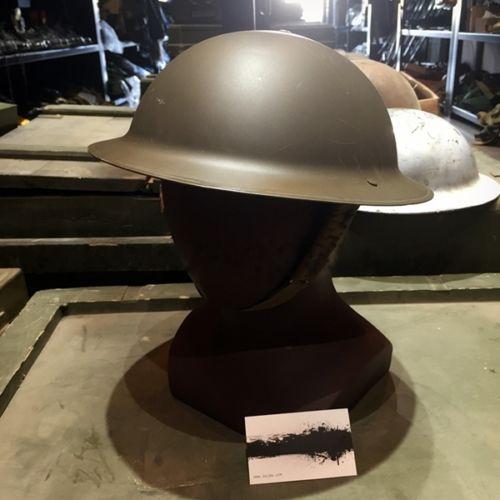 WWII UK ARMY ORIGINAL EARLY WORLD WAR 2 MK2 BRITISH TOMMY STEEL BRITISH HELMET World military
