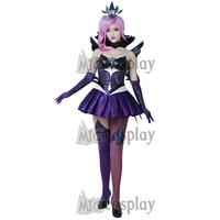 Lux Elementalist Dark Lux Dress Halloween Cosplay Costume