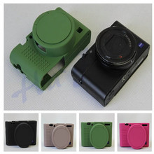 Rubber Camera Bag Silicone Soft Case For Sony RX100 M3 M4 M5 DSC-RX100 III RX-100IV RX100 V Protective Cover