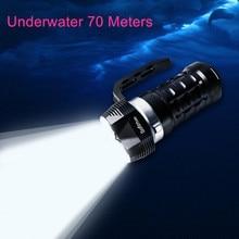 Nova sofirn sd01 alta poderosa zoomable lanterna led 18650 SST 40 3000lm tático militar handheld mergulho