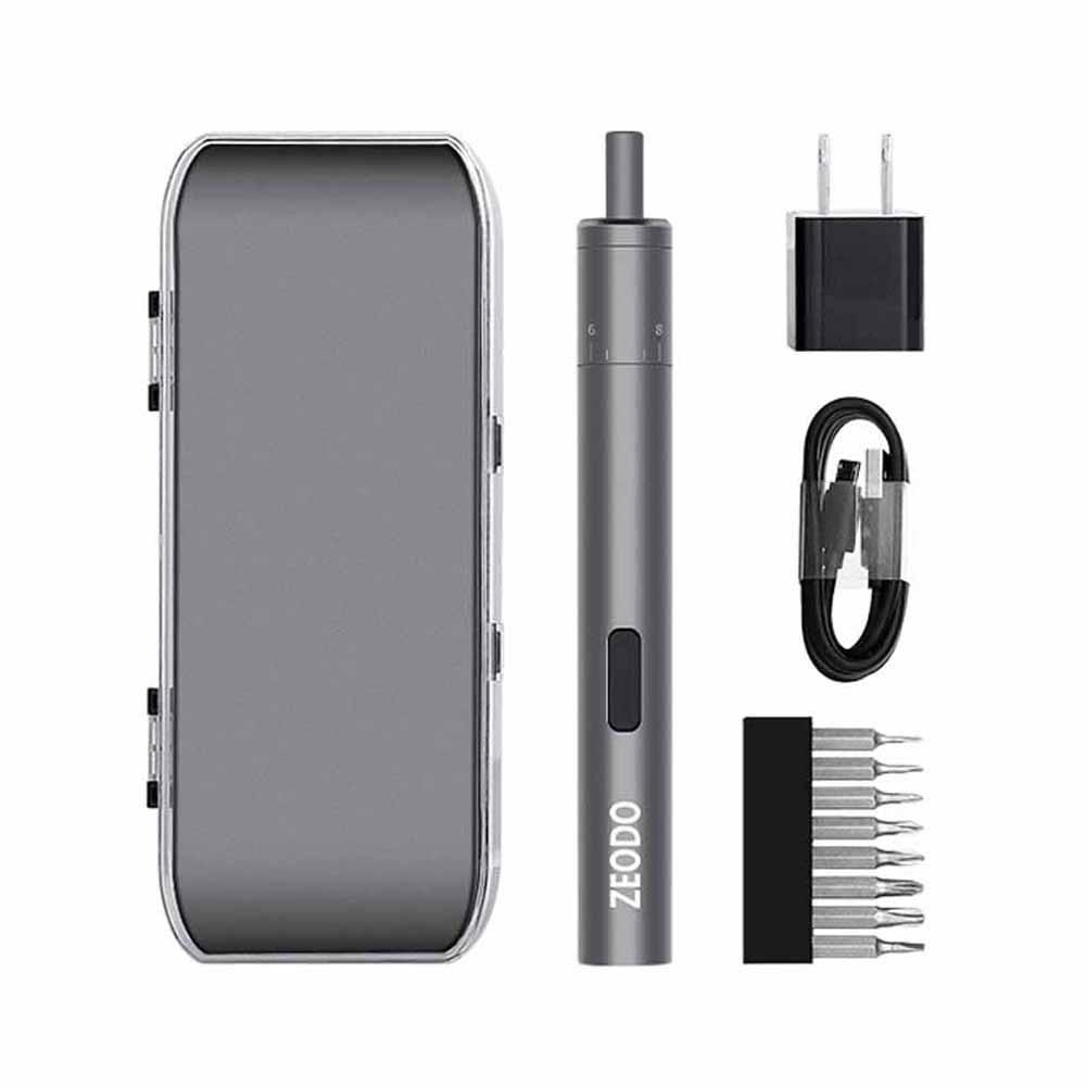 Portable Mini USB Electric Screwdriver Set Charging Adjustable Torque Cordless Drill Screw Driver For Phone Laptop Repair Tools