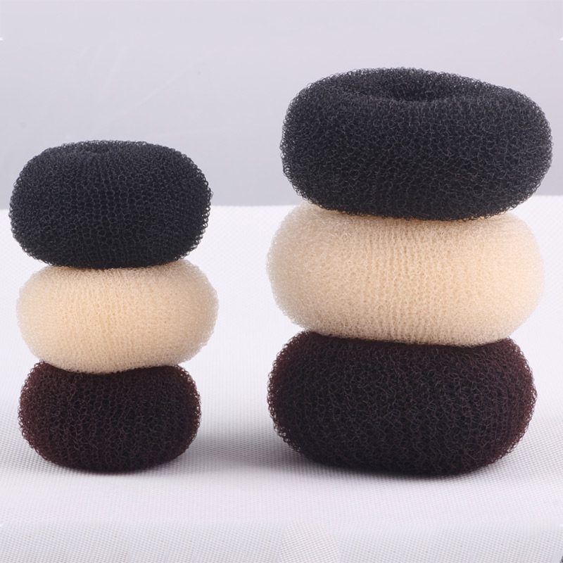 1 Pcs Hair Bun Maker Donut Magic Foam Sponge Easy Big Ring Hair Styling Tools Soft Hair Styler Shaper