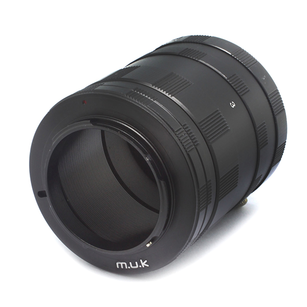 Macro Extension Tube Ring set for Olympus for Panasonic for Micro 4/3 Mount Camera Lens