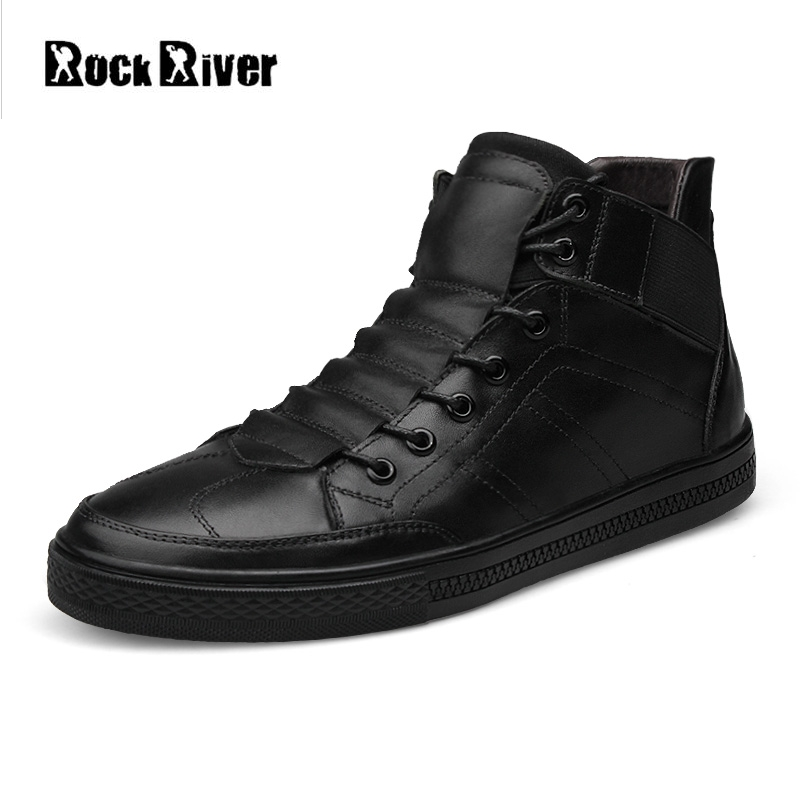 New 2018 Spring Autumn 100% Genuine Leather Shoes Men Blue Black Lace-Up Luxury Breathable Men Casual Shoes High-Tops Shoes Men dc comics фигурка металлическая killer croc alt 10 см