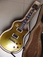 Free Hardcase Custom lp slash goldtop electric guitar LP guitar Gold top 110320