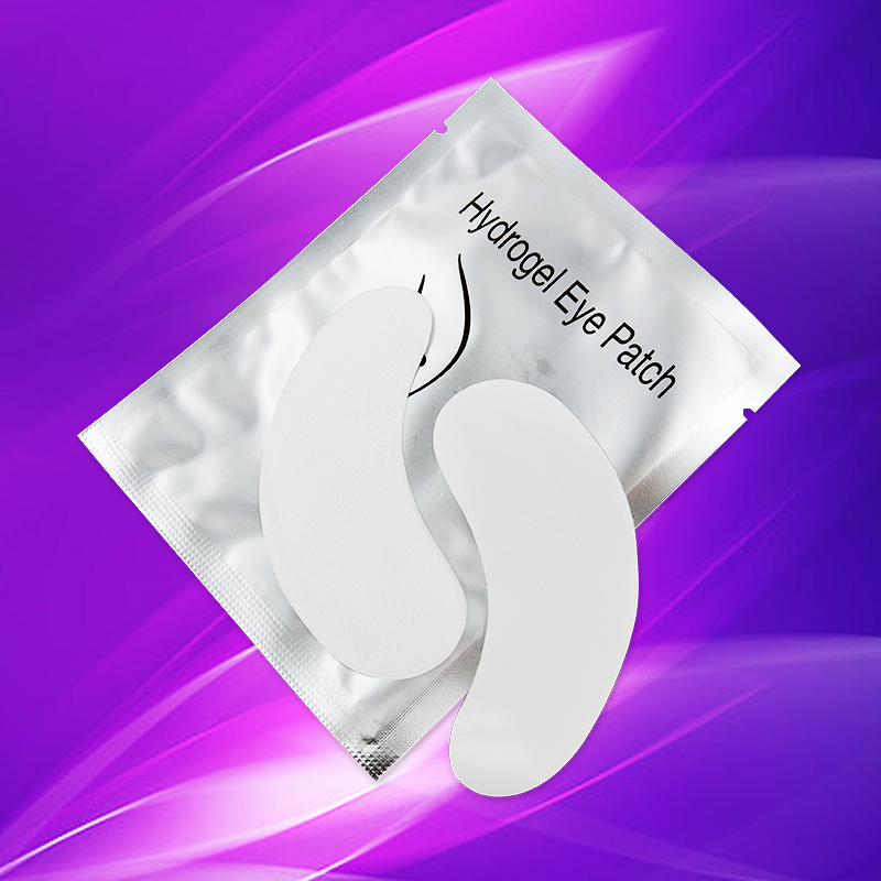 Misslamode 50 pairs eye pads lash extension eye pads eyelash extension paper patches high quility professional patches in False Eyelashes from Beauty Health