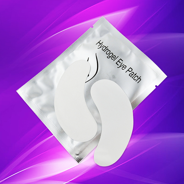 Misslamode 50 pairs eye pads lash extension eye pads eyelash extension paper patches high quility professional patches