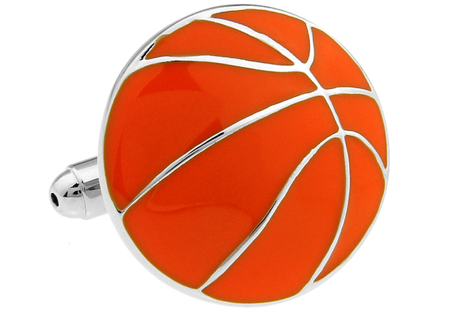 Igame Basketball Cuff Links Sport Design