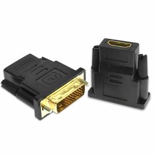 Image 3 - Ale, aby hdmi dla kobiety do DVI kabel konwertera DVI 24 + 1 na adapter hdmi dla Monitor projektor hdtv