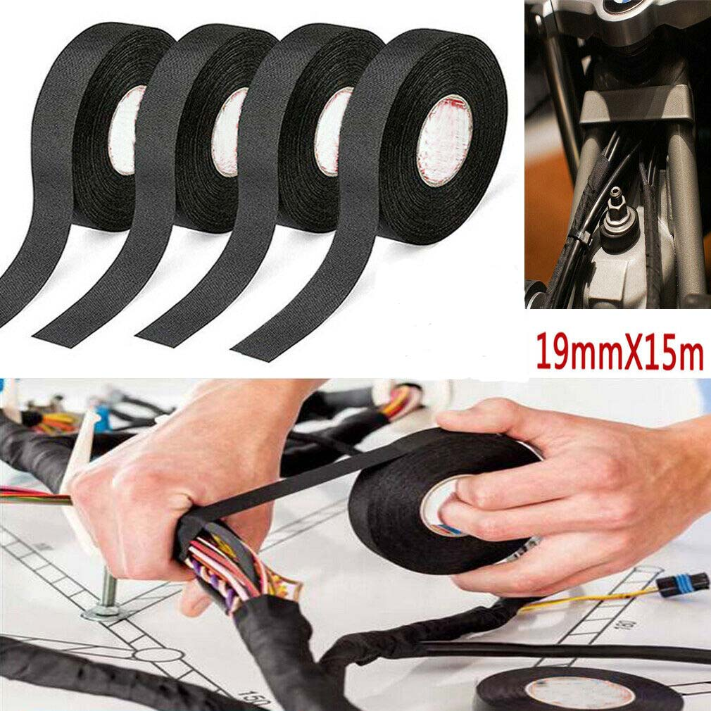 wrap electrical wiring harness adhesive cloth electrical tape for harness wiring loom car wire  electrical tape for harness wiring loom