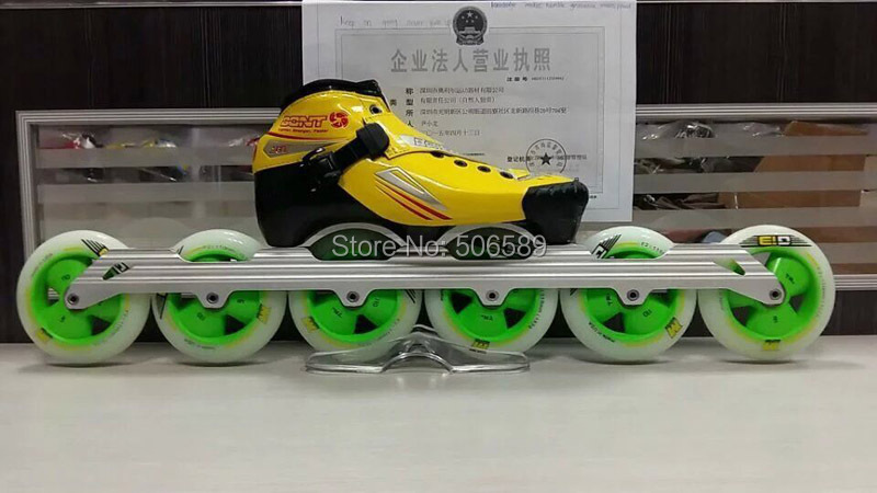 free shipping speed skates super racing diy combination speed skates цена и фото