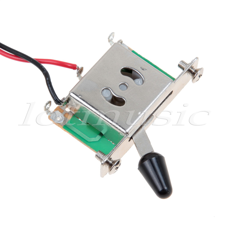 5Sets Two Pickup Guitar Wiring Harness 3 Way Blade Switch 500K Great with Humbuckers guitar wire picture more detailed picture about 5sets two pickup Easy 3-Way Switch Diagram at bayanpartner.co