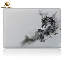 Mimiatrend Cool Smoke Dragon Vinyl Decal Partial Art Laptop Stickers Skin for MacBook Air Pro Retina 11 13 15 Inch