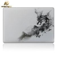 Cool Smoke Dragon Vinyl Decal Partial Art Stickers Skin For MacBook Pro 13 MacBook Air