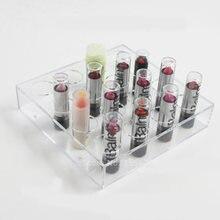 Акриловый дисплей косметическая бутылка прозрачный 16 отдельных
