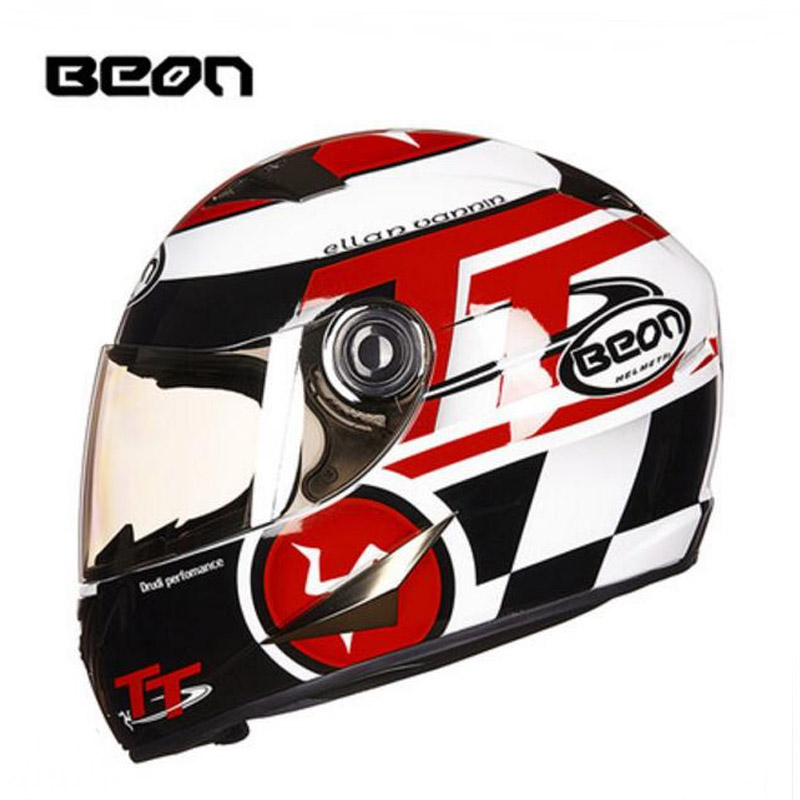 2017 Winter New Netherlands Band CE Authentication BEON Full Face Motorcycle Helmet Motorbike Helmets Made of ABS PC lens visor 2016 newest netherlands authorization beon retro air force harley style half face motorcycle helmet b 100 of abs matte black cat