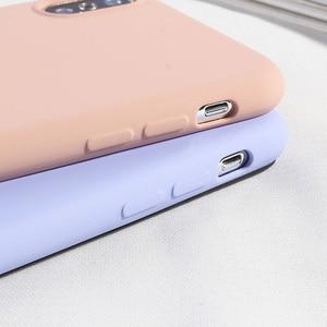 Image 4 - NEUE Einfache Candy Farbe Telefon Fall Für iPhone X XS MAX XR 7 8 Plus Weiche TPU Silikon Zurück Abdeckungen für iPhone 6 6 s Plus Fundas Capa
