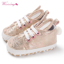 2017 Winter Spring Anti-Skid Baby Shoes Infant Girl Soft Bot