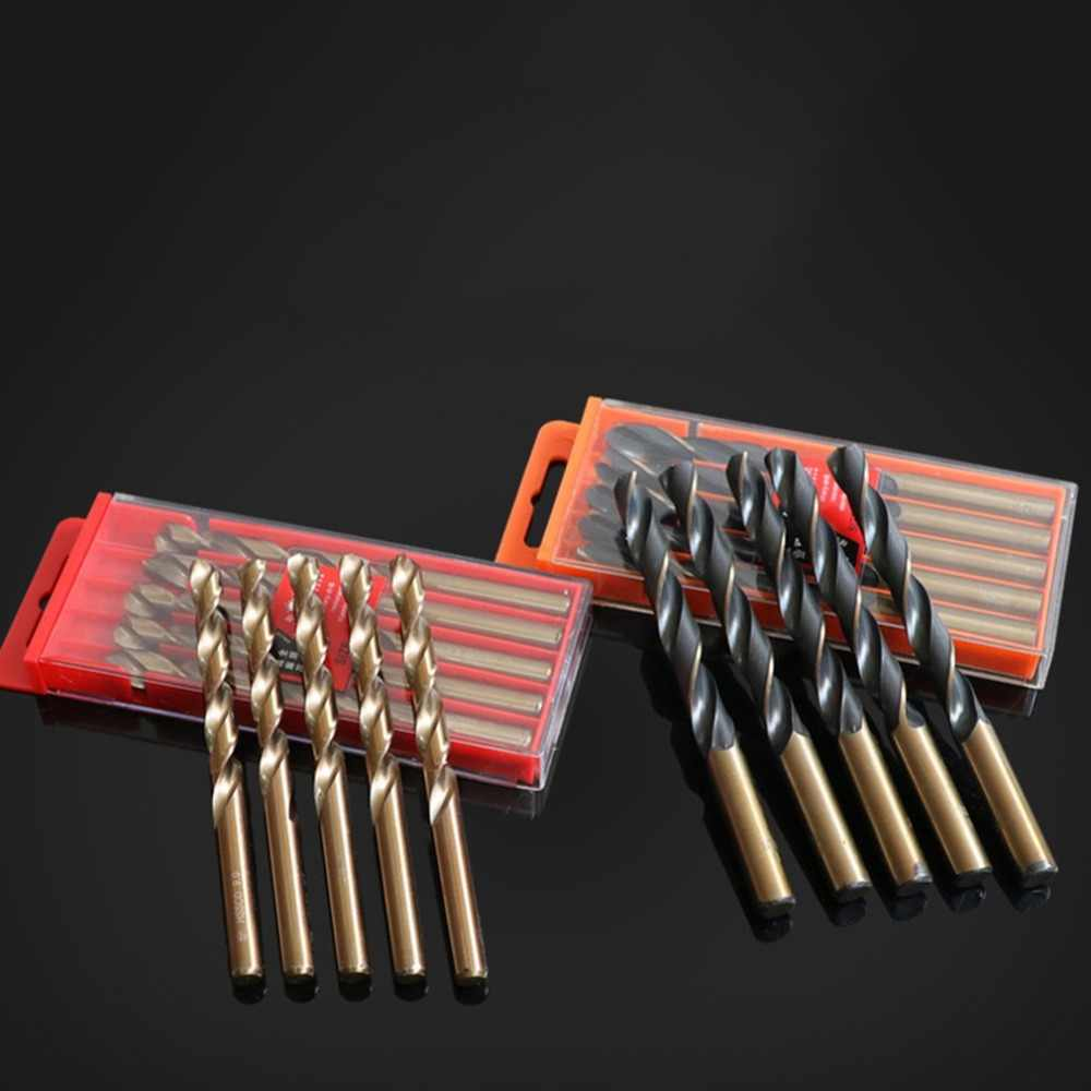 Универсальный HSS Металлообработка мощный инструмент Professsional ВЫСОКАЯ СКОРОСТЬ Сталь твист бурильные долото Прочный инструмент