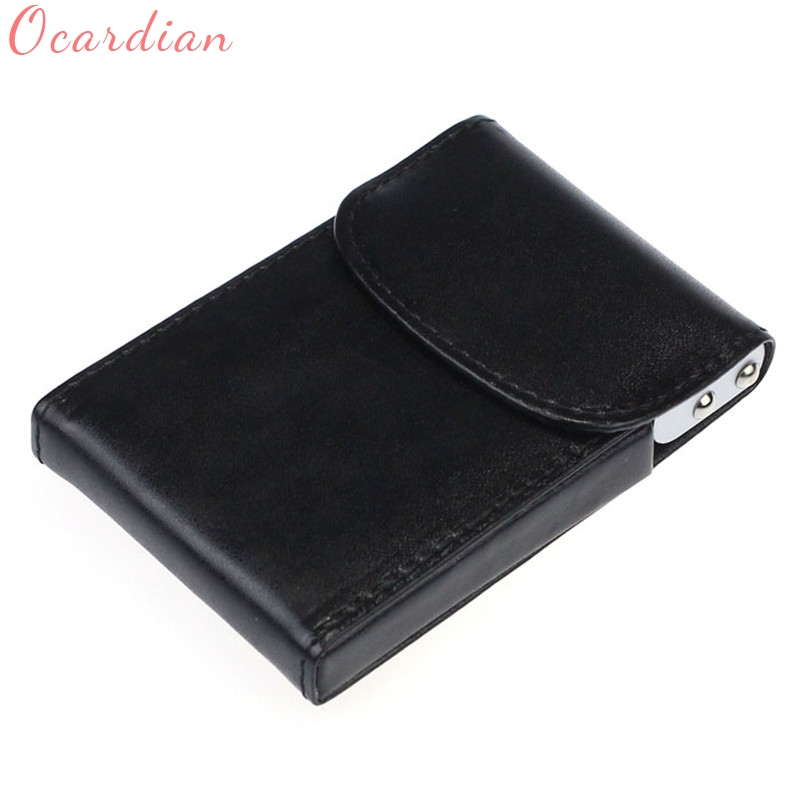 Ocardian Wallets & Holders Photo Holder wallet men leather credit card holder Business Name ID Credit Card Mini Box Pocket Dec18 2017 new top brand pu thin business id credit card holder wallets pocket case bank credit card package case card box porte carte