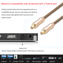 SPDIF Digital Audio Optical Cable 5.1 Input/Output