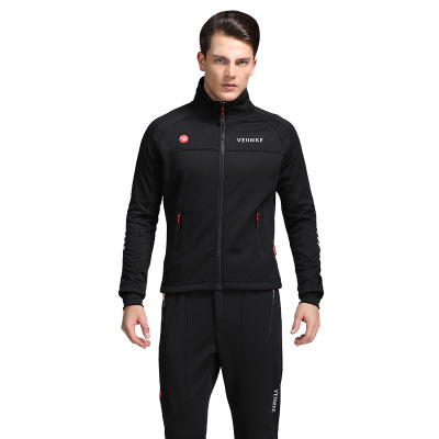 цена на Winter Outdoor Cycling Jackets Set Men maillot ciclismo Thicken Fleece Long Sleeve Clothing Trousers Riding Jackets Sets M-XXXL