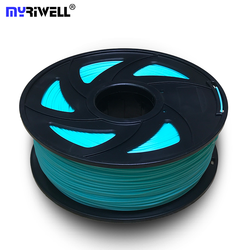 A Qualidade superior Da Marca 3D Printer Filament 1.75 KG PLA 1 22 Consumíveis Borracha Material plástico tipos de cores