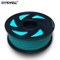 Top Quality Brand 3D Printer Filament 1.75 1KG PLA plastic Rubber Consumables Material 22 kinds colours