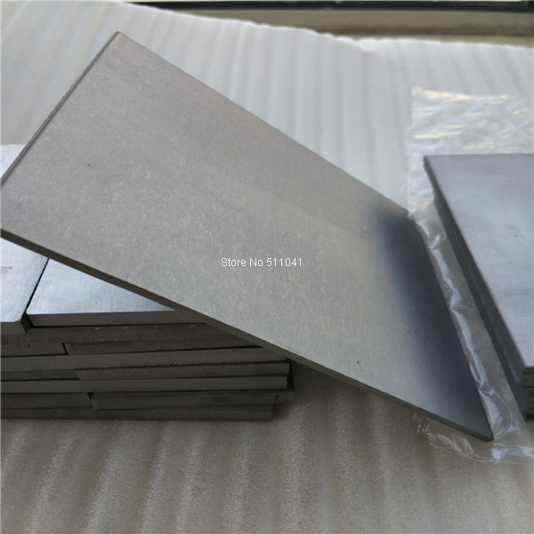 3mm Épais Titanium 6al-4v Feuille. 125 X 12 X 20 Grade 5 Plaque Ti Gr5 gr5 grade5 alliage 6al4v tianium plaque/feuille/bloc