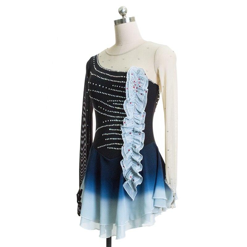 Nasinaya haljina za umjetničko klizanje Prilagođeno natjecanje - Fitness i bodybuilding - Foto 3