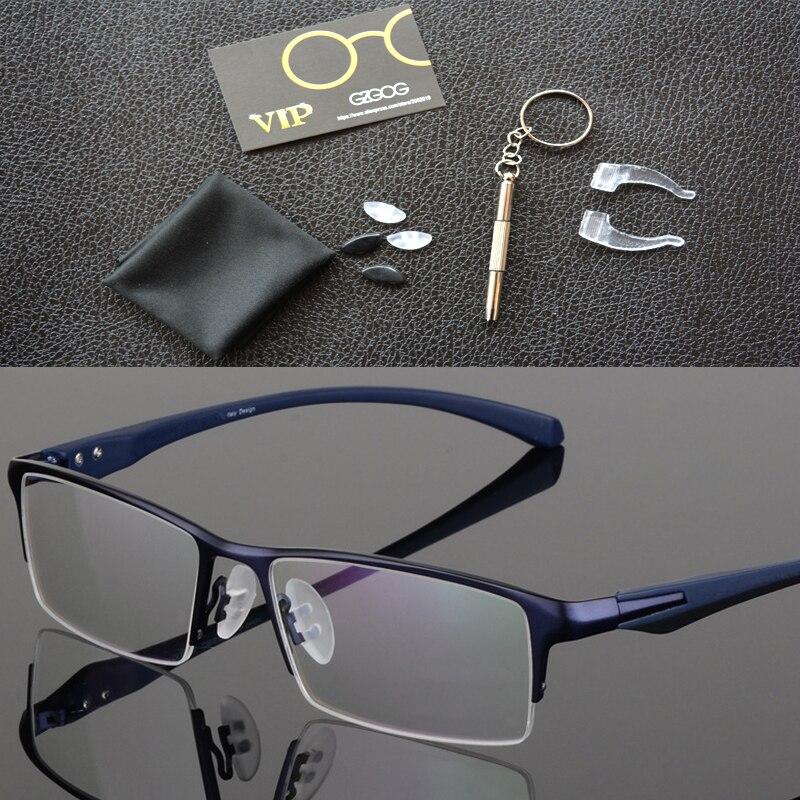 Image 4 - Оправа для очков из чистого титана, полная оправа для очков, мужские Оптические очки, оправа для очков, Дизайнерские Большие простые очки-in Мужские очки кадры from Аксессуары для одежды on AliExpress - 11.11_Double 11_Singles' Day