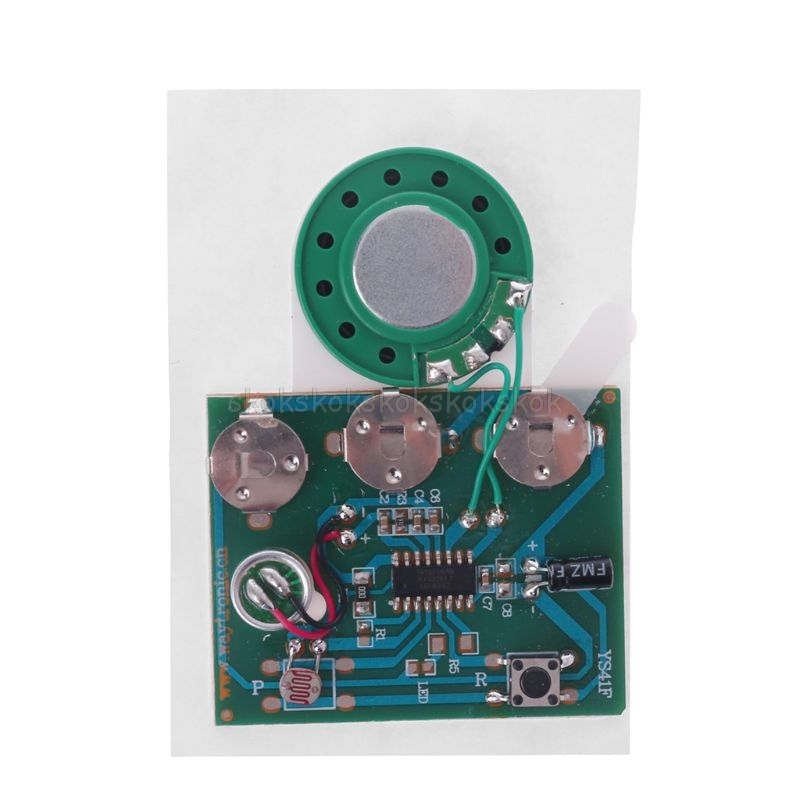 30s 30secs Photosensitive Sound Voice Audio Music Recordable Recorder Board Chip Programmable Music Module For Greeting Card Diy 100% High Quality Materials