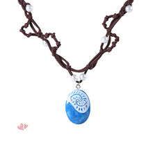 Boneca Moana vaiana princess marine romance necklace weaving childrens toy movie character gift