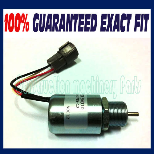 SA-3725 Shut down solenoid 1751ES SA-3725-12 12V For Mahindra/SDMO genset - Free shipping sdmo technic 10000e