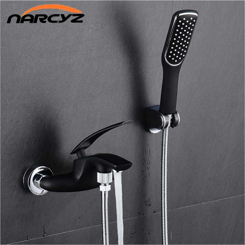 Free Shipping Full copper body paint shower bath tub faucet mixed water pipe faucet black and white red chrome XT331 rakesh kumar tiwari and rajendra prasad ojha conformation and stability of mixed dna triplex