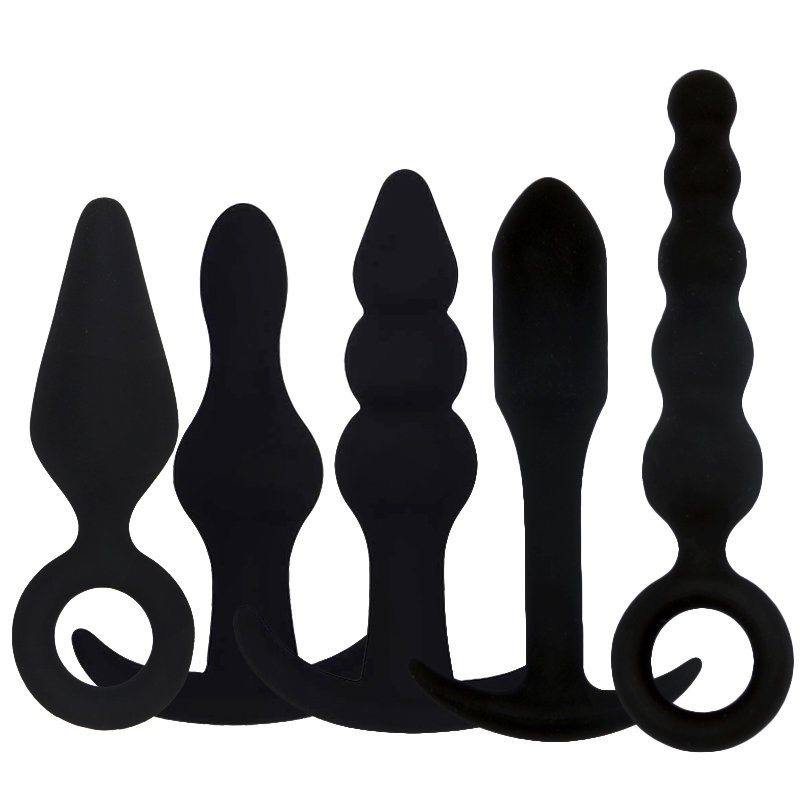Smooth Silicone Dildo Vibrator Male Prostate Massage Anal Plug G Spot Butt Plug Anal Toys Adult Masturbation Sex Toys For Couple